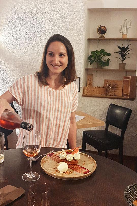 L'Alchimie, bar à Orléans : dégustation vins - Anna